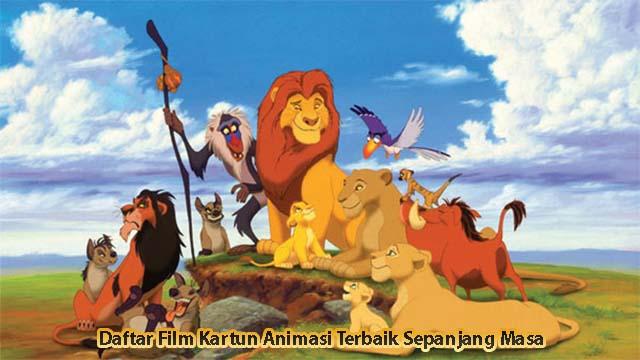 Daftar Film Kartun Animasi Terbaik Sepanjang Masa