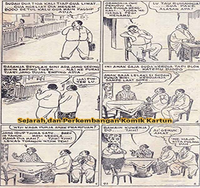 Sejarah dan Perkembangan Komik Kartun